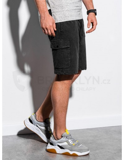 Men's sweatshorts W225 - black