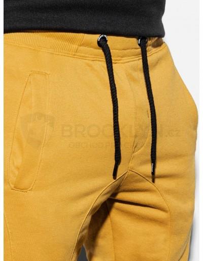 Men's sweatpants P867 - yellow