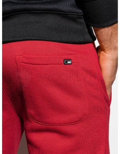 Men's sweatpants P866 - red