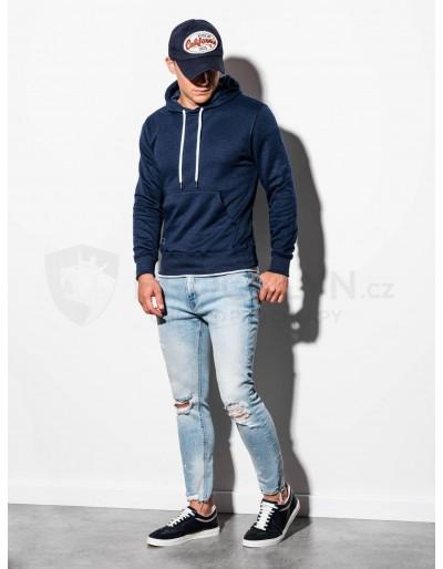 Men's hooded sweatshirt B979 - navy V
