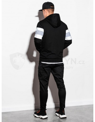 Men's hooded sweatshirt B1066 - black