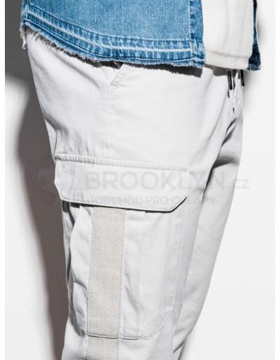 Men's pants joggers P893 - grey