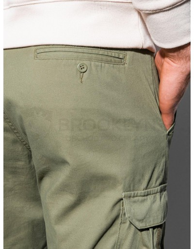 Men's pants joggers P893 - green
