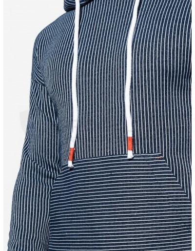 Men's hoodie B1092 - navy