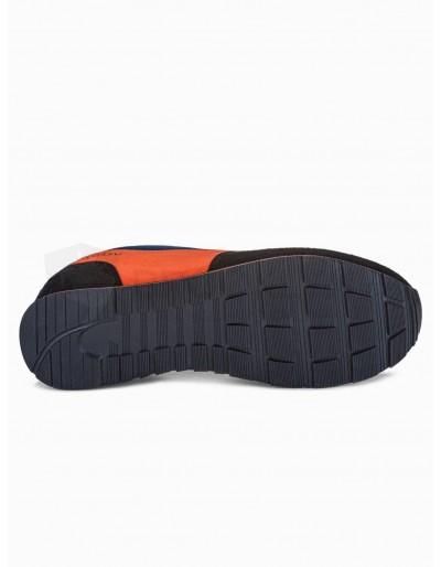 Men's casual sneakers T349 - yellow