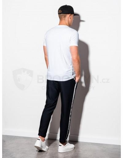 Men's plain t-shirt S884 - white
