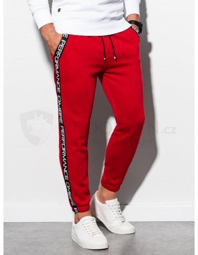 Men's sweatpants P899 - red