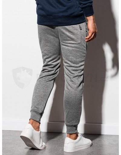 Men's sweatpants P900 - grey melange