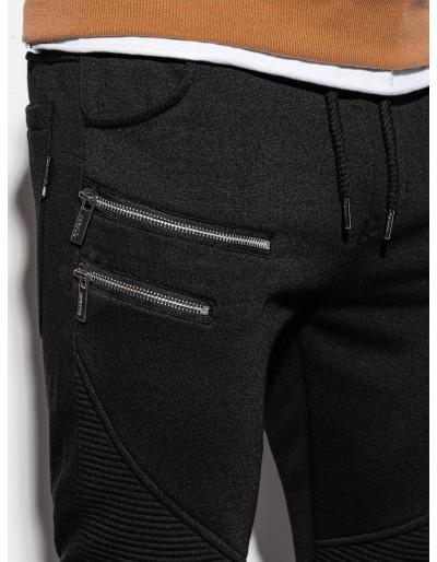 Men's sweatpants P900 - black