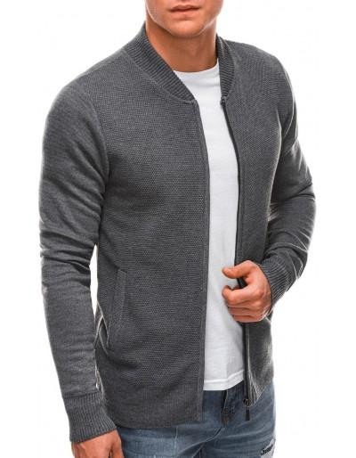 Pánský svetr E197 - šedý