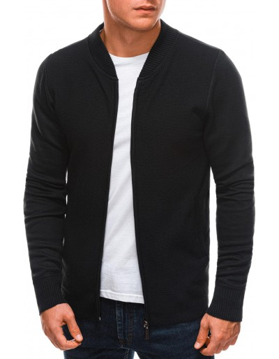 Pánský svetr E197 - černý