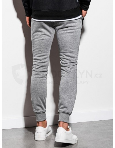 Men's sweatpants P903 - grey melange