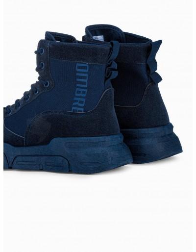 Men's casual sneakers T348 - navy