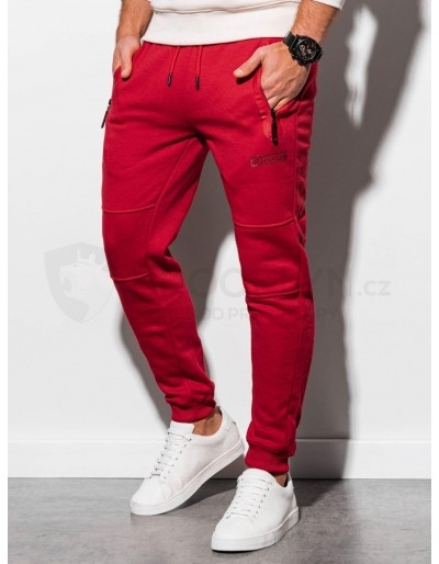 Men's sweatpants P902 - red