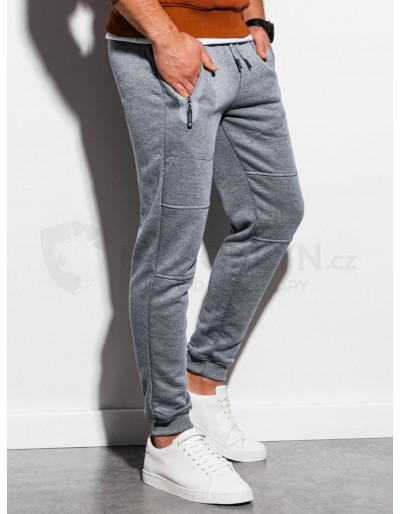 Men's sweatpants P902 - grey melange