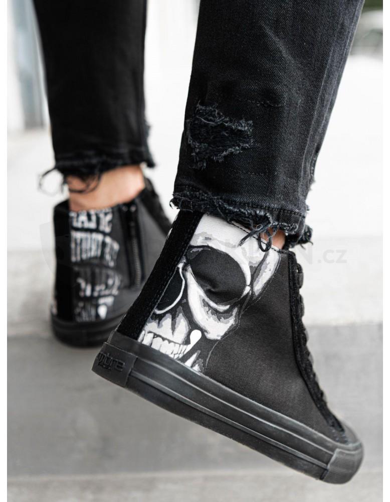 Pánská kotníková obuv T347 - černá