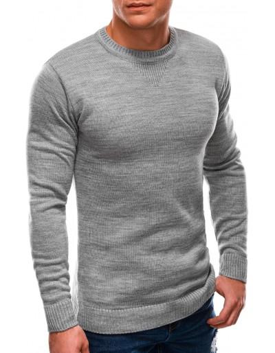 Pánský svetr E203 - šedý