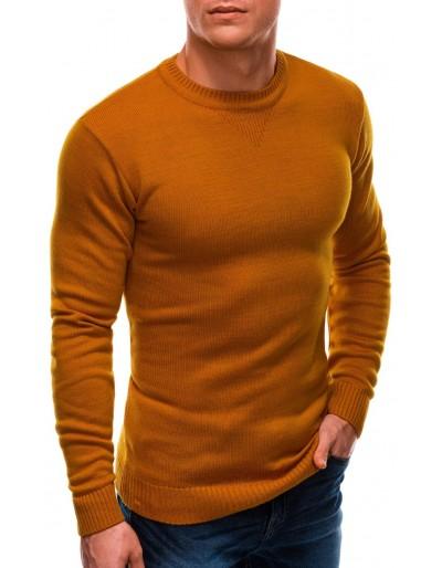 Pánský svetr E203 - hořčice