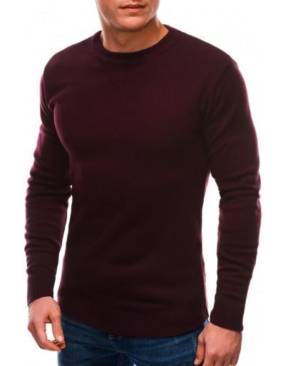 Pánský svetr E203 - tmavě červený