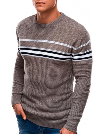 Pánský svetr E204 - béžový