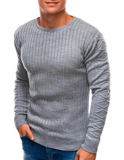 Pánský svetr E201 - šedý