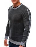 Pánský svetr E200 - šedý