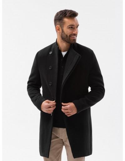 Pánský kabát C501 - černý
