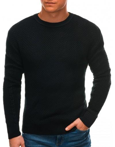 Pánský svetr E202 - černý