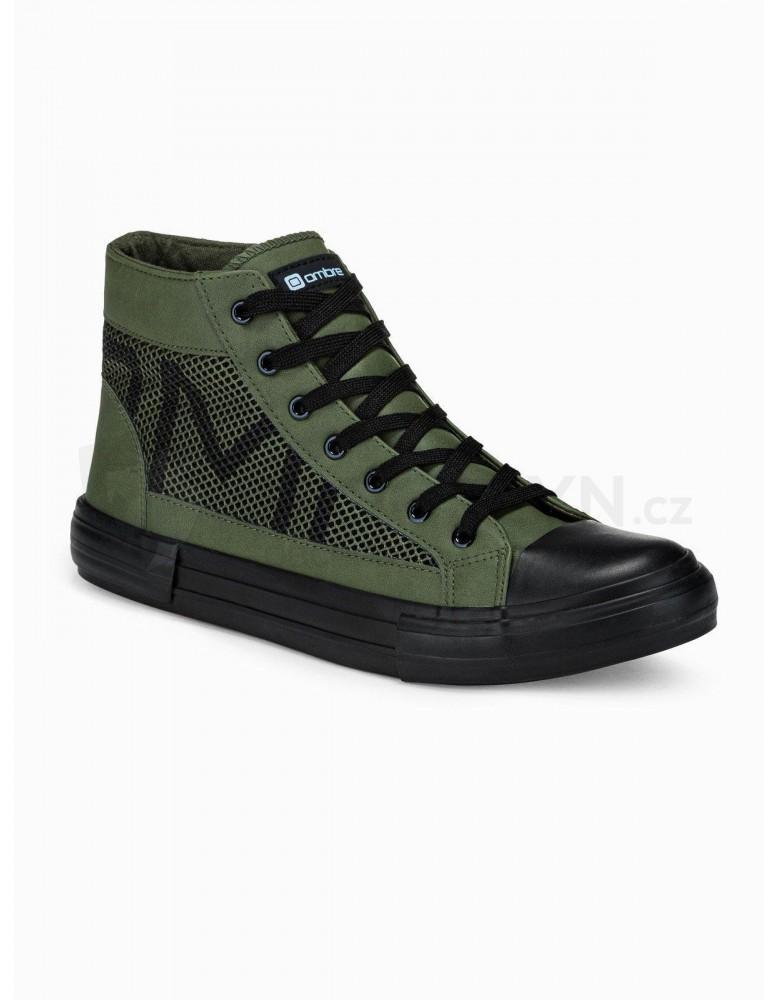 Pánská kotníková obuv T353 - khaki