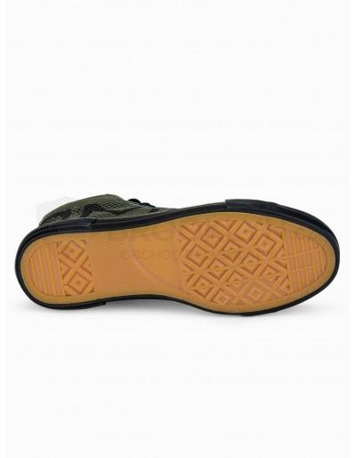 Men's ankle shoes T353 - khaki