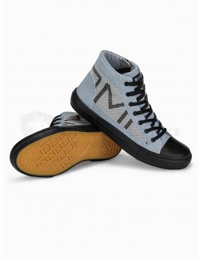 Men's ankle shoes T353 - grey