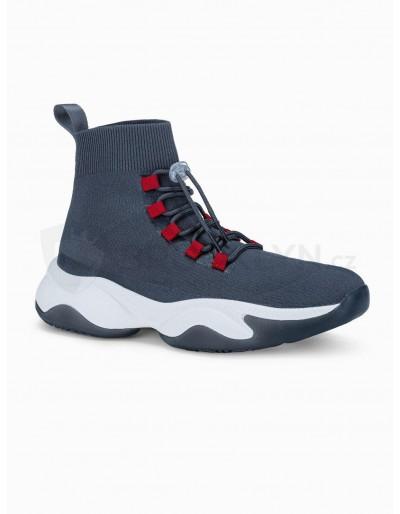 Men's casual sneakers T355 - grey