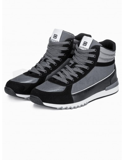 Men's casual sneakers T358 - grey