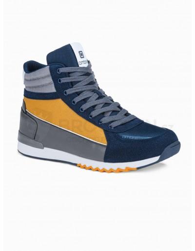 Men's casual sneakers T358 - navy
