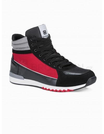 Men's casual sneakers T358 - black
