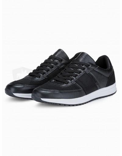 Men's casual sneakers T361 - black