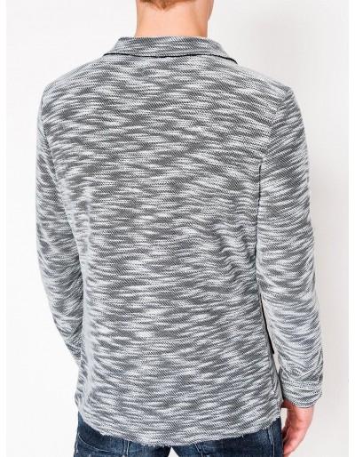 Men's casual blazer jacket M89 - grey