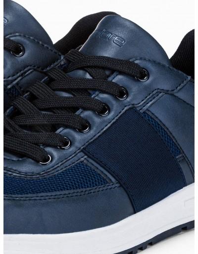 Men's casual sneakers T361 - navy
