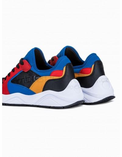 Men's casual sneakers T363 - red
