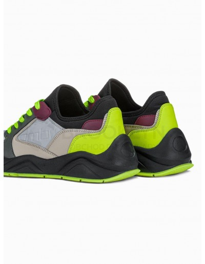 Men's casual sneakers T363 - olive
