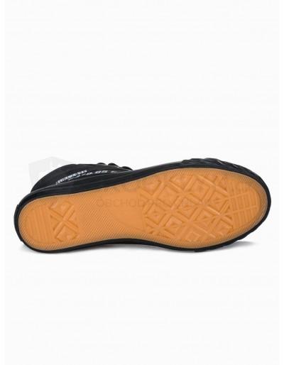 Men's ankle shoes T357 - black