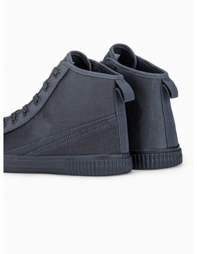 Men's ankle shoes T350 - grey