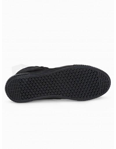 Men's ankle shoes T350 - black