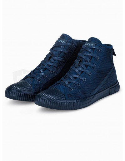 Men's ankle shoes T350 - navy