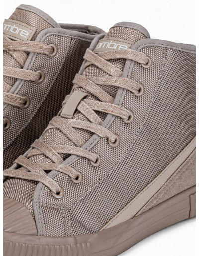 Men's ankle shoes T350 - beige