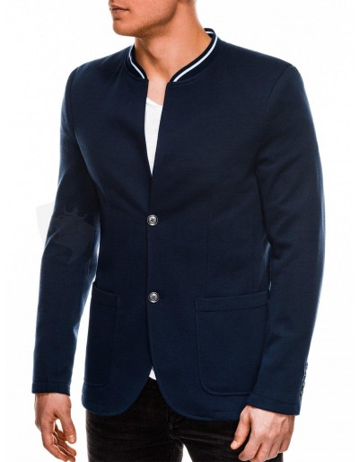 Men's casual blazer jacket M84 - navy
