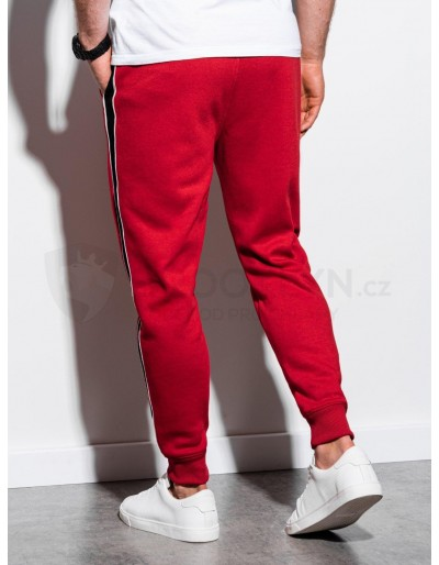 Men's sweatpants P898 - red