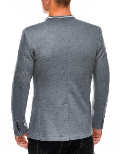 Men's casual blazer jacket M84 - grey