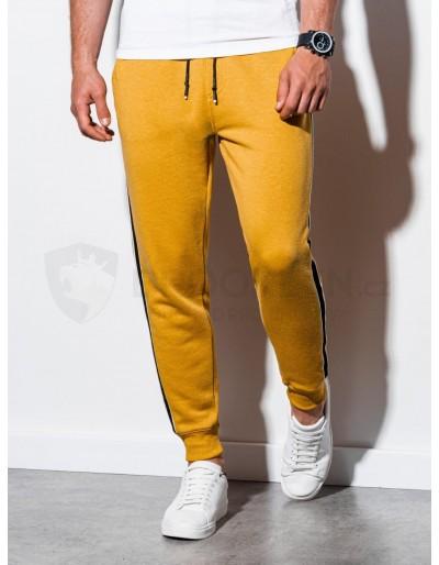 Men's sweatpants P898 - yellow