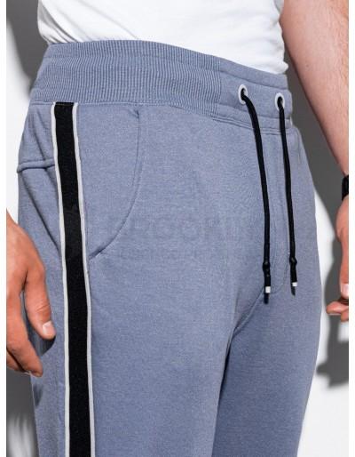 Men's sweatpants P898 - light blue